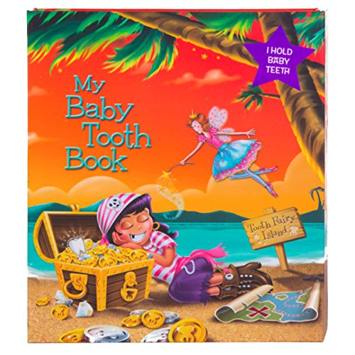 Baby Tooth Album - Tooth Fairy Island Collection - Girl by Baby Tooth Album -