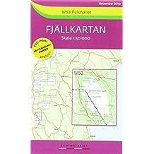 Fjällkartan 1 : 50 000 W53 Fulufjället - Lantmäteriet - Kartförlaget Wanderkarte