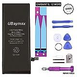 UBaymax Batterie iphone 6 Kit Batterie de Remplacement pour Iphone 6 avec Outils Complets Haute Qualité Aimantés et Support de Fixation