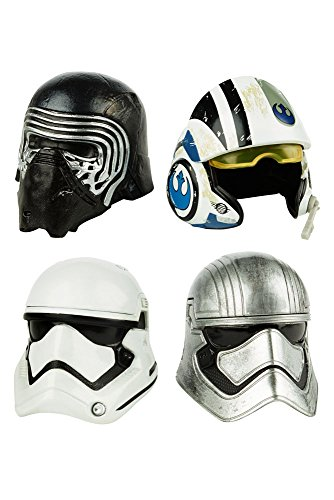 Star Wars Black Series assortiment packs 2 casques Titanium Series 2016 Wave 1 (6)