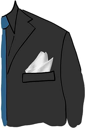 tessago pochette raso di poly unito bianco mis 30 x 30