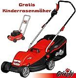 Elektromäher ERM 1844 G Rasenmäher Motormäher Rasen Mäher 1800 W 44 cm Limited Edition 15 Jahre Grizzly