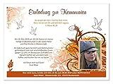 Einladungskarten für Kommunion Kind Mädchen, mit Foto (auch ohne) lustig und originell - Text ändern - 10 Karten in DIN A5 Größe