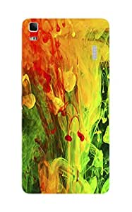 Back Cover for Lenovo K3 Note ABSTRACT ART