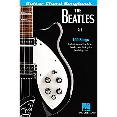 Jeffrey Mike: The Beatles Guitar Chord Songbook: A-I (Guitar Chord ...