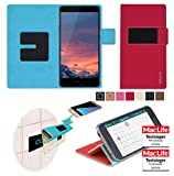 Vernee Thor Plus Hülle Cover Case in Rot - innovative 4 in