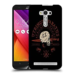 Snoogg Utrinque Paratus Designer Protective Back Case Cover For ASUS ZENFONE SELFIE