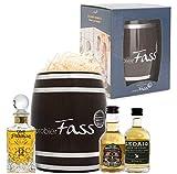 probierFass Whisky Collection | 3 Whisky Klassiker (3 x 0.05 l) verpackt in einem originellen Fass | Glen Franciscan - Chivas Regal - Ledaig 10 Years | Das perfekte Geschenk für Whisky Begeisterte