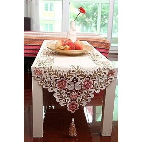 Giardino tavolo runner tessuto moda/ semplice panno