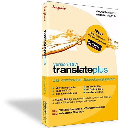 translate plus 12.1 Deutsch-Französisch: Das komfortable Übersetzungssystem