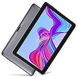 LNMBBS Tablet 4G LTE, Display da 10' HD - Android 8.1, WiFi, 32 GB Memoria, 2 GB RAM, Quad-Core, Dual Sim (Grigio) ...