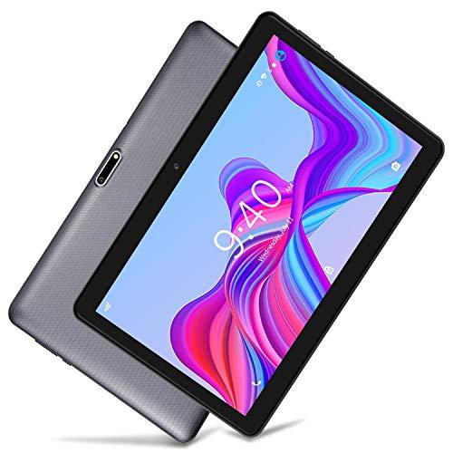 LNMBBS LTE Tablet-PC 25,54 cm (10,1 Zoll) HD - Android 8.1, WiFi, 32GB Interner Speicher, 2GB RAM, Quad-Core, Dual SIM (Grau) ...