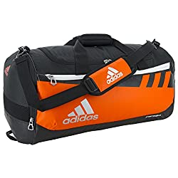 Adidas Team Issue Duffel Bag, Orange, Medium