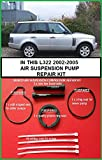 Range rover L322 MK 3 Vogue V8 TD6 Wabco Air Suspension Compressor repair Kit