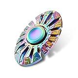 YGJ Rainbow Spinner Fidget EDC ADHD Focus Toy … (Rainbow-Egg)