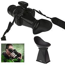 Mondpalast@ Visor de Pantalla Viewfinder LCD V2 para cámara DSLR de Canon 550D , 5D mark III , 5DIII , Nikon D90
