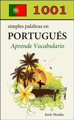 1001 simples palabras en Portugués (Aprende Vocabulario nº 6)
