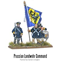 Napoleonic Prussian Landwehr Command - Warlord Games - Black Powder