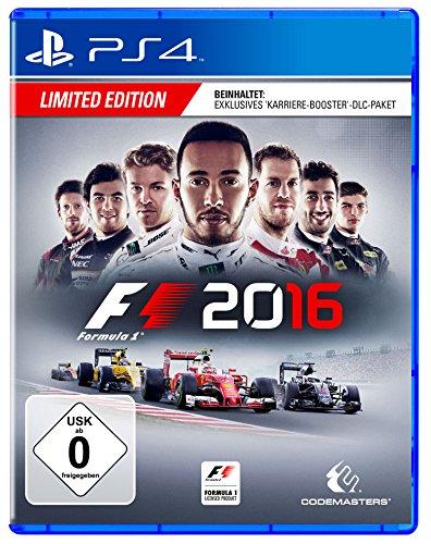 formel eins ps4 F1 2016 Limited Edition