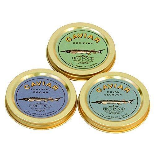 Imperial Caviar Schnupperkurse Set 100g