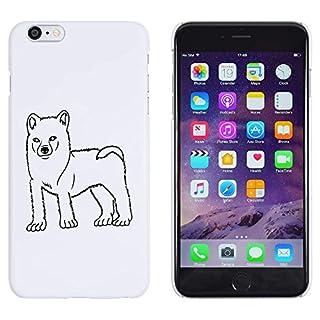 White 'Akita' Case / Cover for iPhone 6 Plus & 6S Plus (MC00098854)