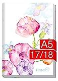 Produkt-Bild: Chäff-Timer Classic A5 Kalender 2017/2018 [Blumen] 18 Monate Juli 2017-Dezember 2018 - Terminkalender mit Wochenplaner - Organizer - Wochenkalender