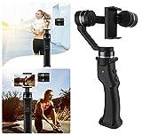 Chaiyan Handheld Pan/Tilt Anti-Shake-Outdoor-Live-Stabilisator, 3-Achsen-Handheld Mobile Gimbal Stabilisator für Smartphone Action-Kamera
