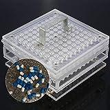 100 Riempimento di Capsule Opercolatore Fori Filler Vitamine pillole di polveri a base di erbe per capsule per migliorare la casa (000#)