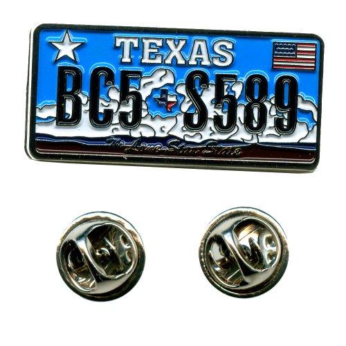 Texas Austin Autokennzeichen USA Bundesstaaten Badge Button Pin Anstecker 0607