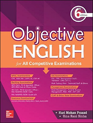 Competitive Exam English Book