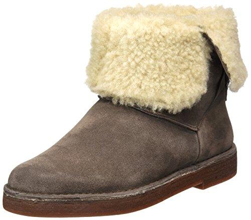 Clarks Damen Drafty Haze Stiefel, Beige (Taupe Suede), 40 EU (Suede Casual Stiefel)