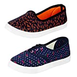 #4: Earton Women/Girls Combo Pack of 2 (Casual Shoes With Loafer & Maccosins)
