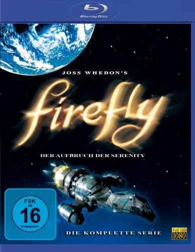 Firefly - Der Aufbruch der Serenity: Die komplette Serie [Blu-ray]