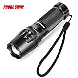 Jaysis G700 X800 LED Zoom Military Grade Tactical Flashlight Battery,Adjustable Focus LED Torch,Super