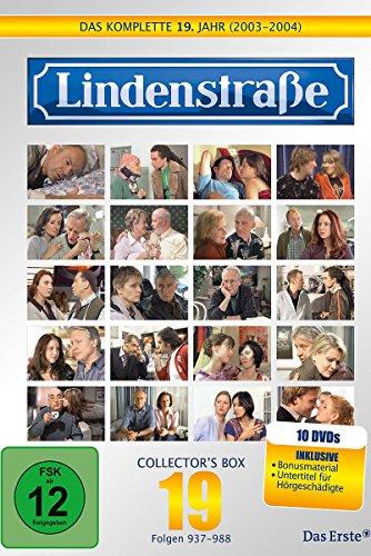 Die Lindenstraße - Das komplette 19. Jahr, Folgen 937-988 (Collector\'s Box,10 Discs)