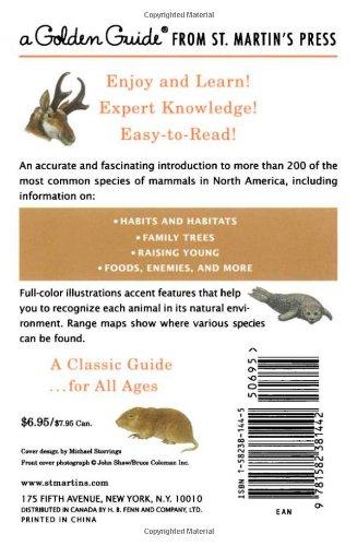 Mammals (Golden Guide)