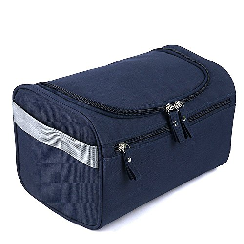 Ekron Navy Blue Toiletry Bag