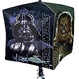 Party Palast - Party Dekoration Folienballon - Star Wars Würfel - 1 Stück, 60cm, Mehrfarbig