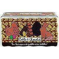 Derri/ère la porte DLP/Val/érie Nylin /Caja de almacenaje para pasteles,/hecho en casa,/en metal embutido