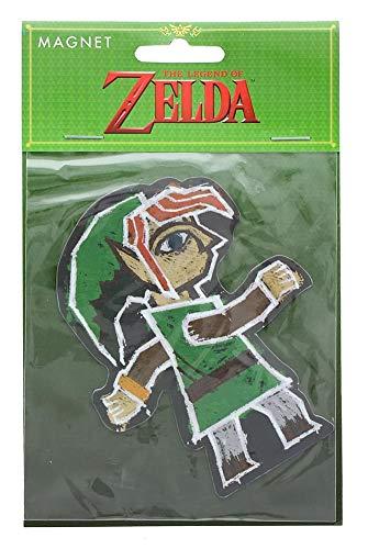 The Legend of Zelda Link Painting 4-Inch Auto ()