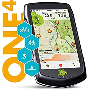 TAHUNA TEASI ONE⁴ – Outdoor-Navigationsgerät mit Bluetooth, Kompass und Europakarte
