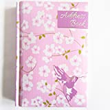 Gepolstertes und gebundenes Adressbuch von A-Z als Minitaschenbuch mit Kolibri-Design.
