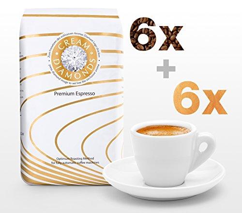 Cream Diamonds 'Cafeteria': 6 kg Cream Diamonds Café-Espresso ganze Bohne optimiert für...