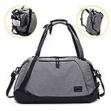 ITSHINY Sporttasche für männer Frauen, Umhängetasche für das Fitnessstudio, Reiserucksack,3 in 1 Design mit Schuhfach, wasserdicht und leicht
