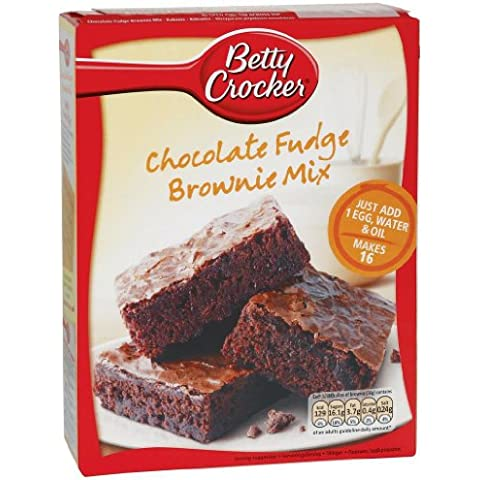 Betty Crocker Chocolate Fudge - Brownie Mix (415 g)