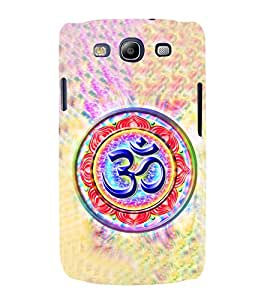 Om Mantra 3D Hard Polycarbonate Designer Back Case Cover for Samsung Galaxy S3 Neo :: Samsung Galaxy S3 Neo i9300i