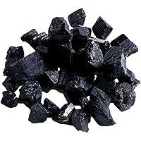 Vosarea Rough Black Turmaline Crystals Raw Rough Stones para decoración de Joyas Textiles Revestimientos de Uso