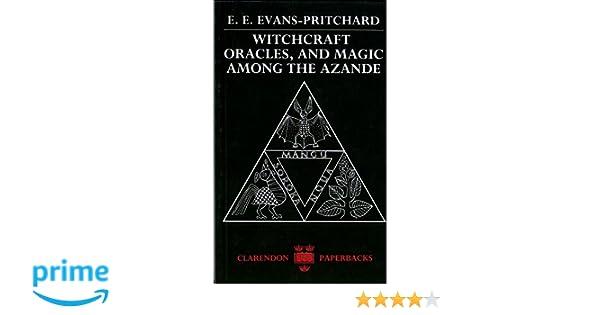 evans pritchard azande witchcraft summary