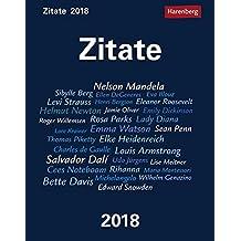 Zitate - Kalender 2018