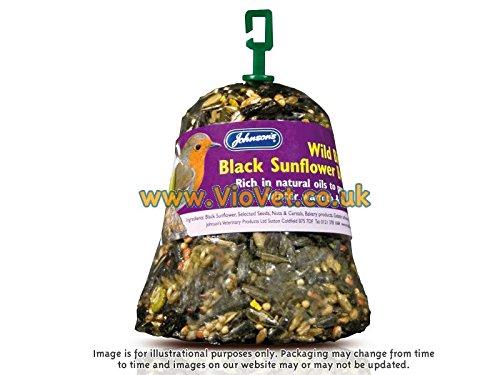 Johnson 's Wild Bird schwarz Sonnenblume Bumper Bell–Dry–150g (Sonnenblumen-bell)